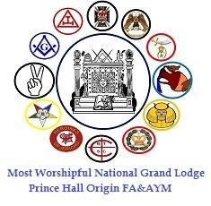 Masonic Backdrop Black Emblem